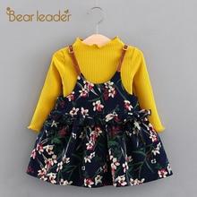 Bear Leader Baby Girls Dress 2019 New Autumn Cute Peter pan