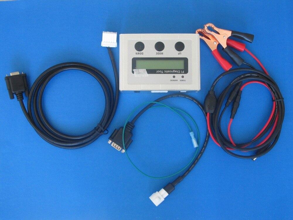 Handheld moto 7000tw moto rcycle scanner Fabrik bieten diagnose-tool für yamaha moto r mit kabel 2 jahre garantie
