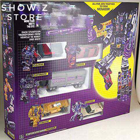 [Show.Z Store] 4th Party G1 Menasor Stunticons 5 Figures Set Transformation Action Figure [show z store] x transbot mx ix aegis mx viii trailbreaker g1 xtransbot transformation action figure