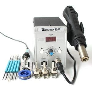 Image 5 - Soldering Desoldering Station 858D 220V / 110V 700W Adjustable Digital Display Heat Gun BGA SMD Hot Air Gun Rework Solder Repair