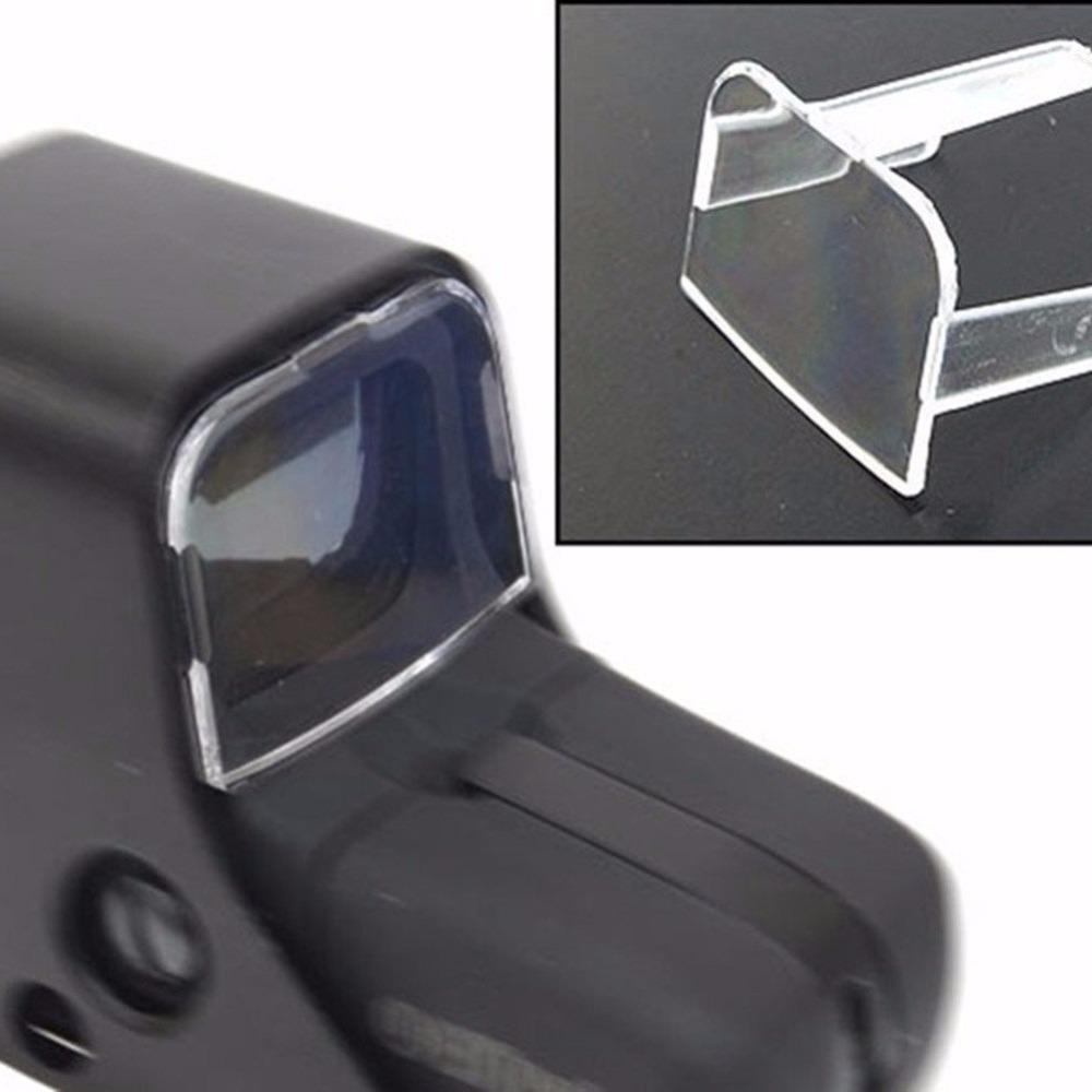 High Quality Tactical Hunting Airsoft Scope Red Green Dot Sight Lens Protective Holosight Cover For 551 / 552 / 553 / 557 Type