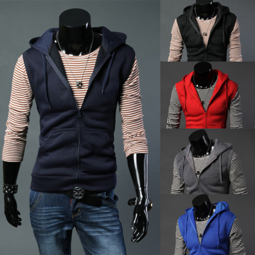 Aliexpress.com : Buy NEW Men Winter Hooded Warm Waistcoat Zip Up ...
