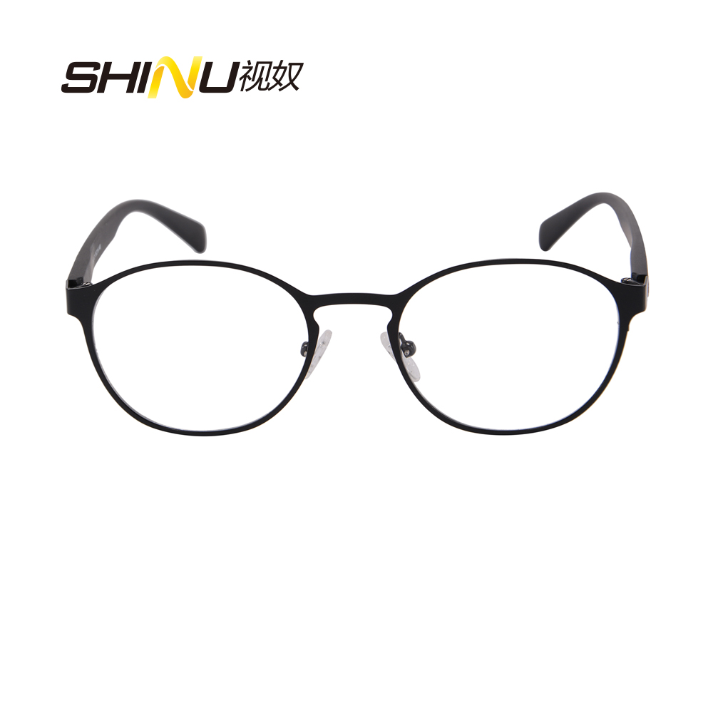 41d3edbbc9 SHINU Vintage round myopia optical frame with polarized sun lens for men  and women magnet clip on sunglasses 9912-in Eyewear Frames from Apparel  Accessories ...