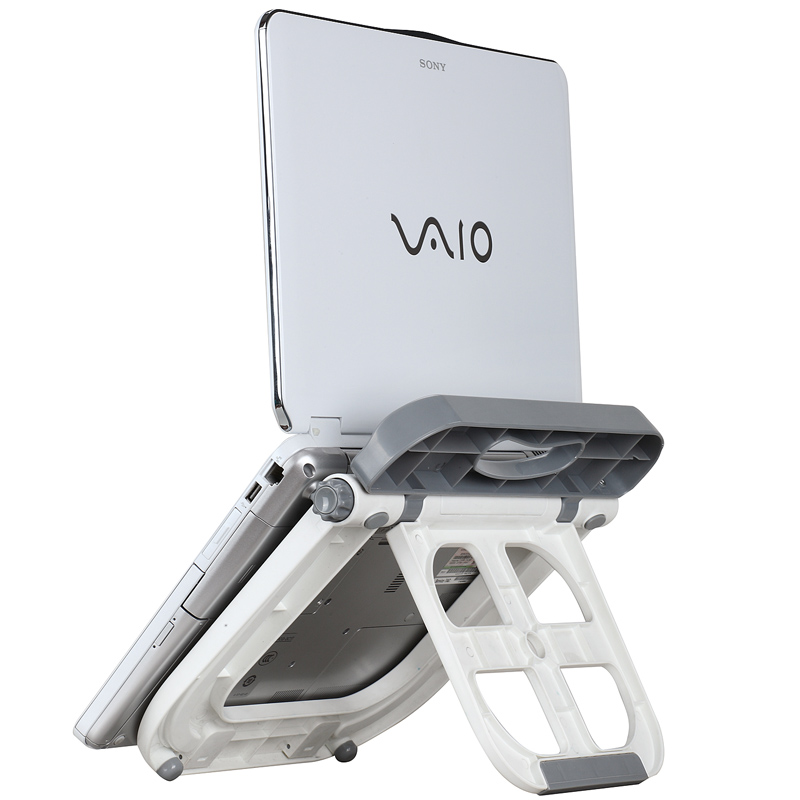 Laptop Stand for Desk, Portable Stand for Notebook Pad Macbook Pro -in Mobile Phone Holders ...