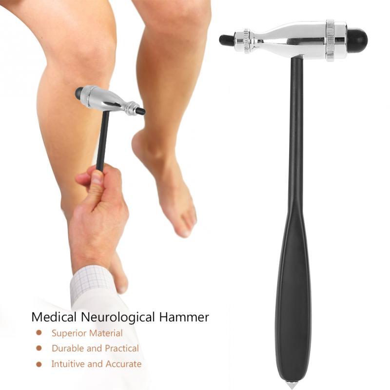 Neue 1 stücke Medizinische Neurologischen Hammer Percussor Diagnose Medizinische Percussion Hammer 22x9 cm Gesundheit Pflege Massage Entspannen Werkzeug