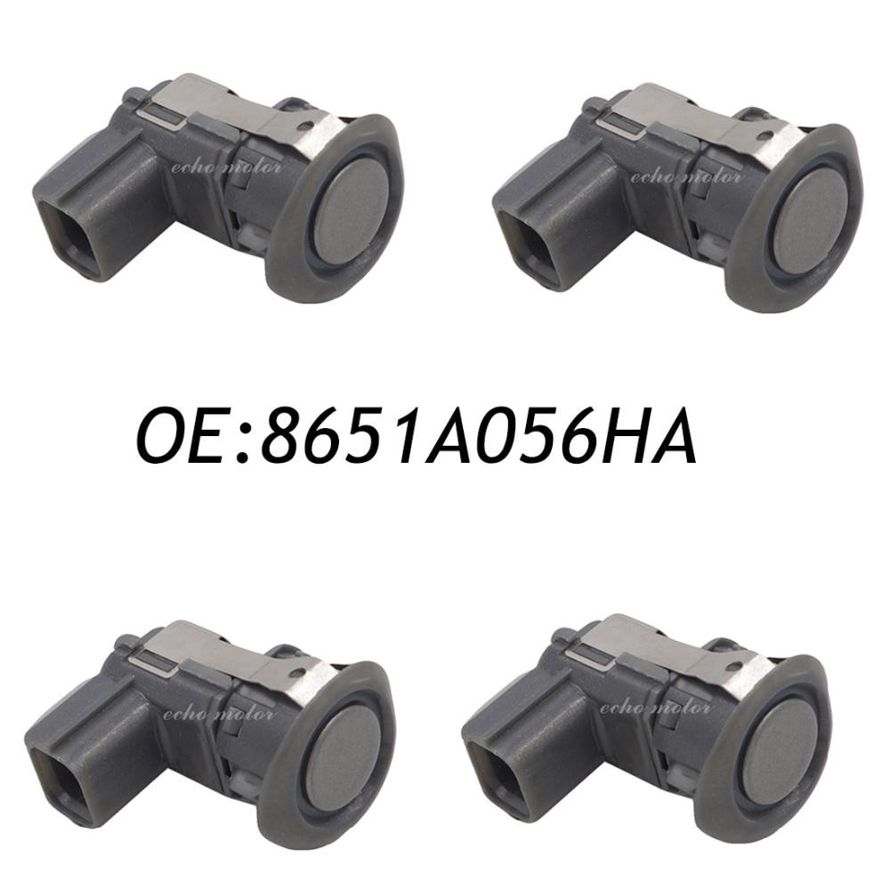 4PCS Reversing Sensor 8651A056 8651A056HA PDC Parking Sensor For Mitsubishi Pajero Montero Outlander Grandis Sport ASX MR587688 new 4pcs camshaft position sensor for mitsubishi lancer l200 2 4l montero sport mr985041