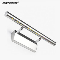 3W 28cm Bathroom LED Mirror Light AC85 265V SMD5050 Mini Style Warm White LED Modern Wall