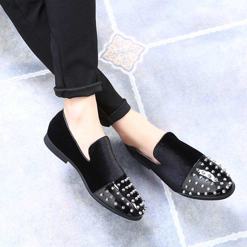2018 muški frizerski stil muške cipele pokreta muških cipela za - Muške cipele - Foto 3