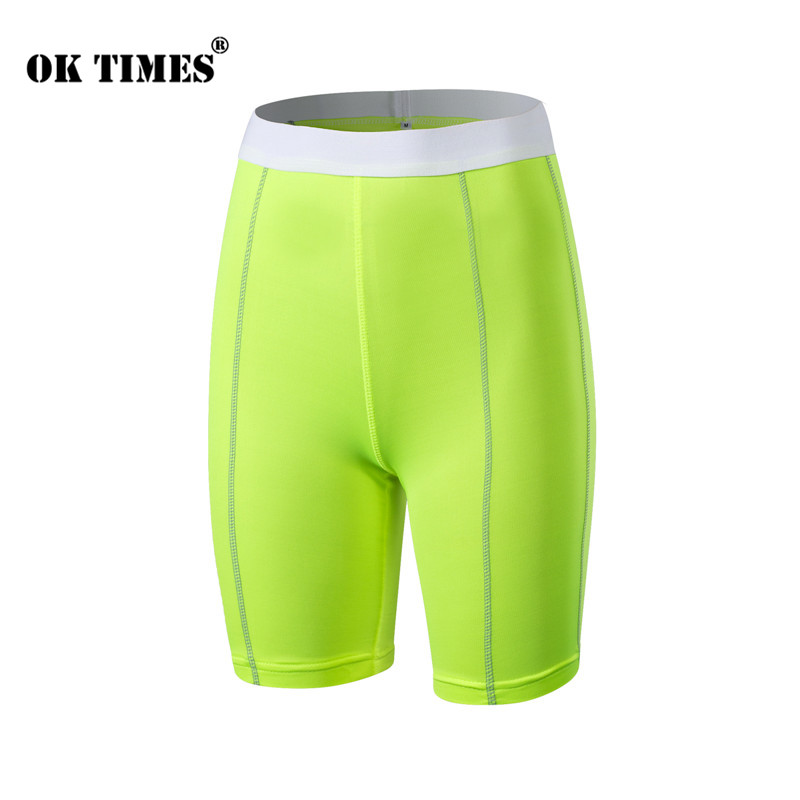 #2004 Summer Ladies Sports Jogging Yoga Outdoor Thermal Skinny Tight Hot Short Pants Gym Shorts Women Plus Size S-XXL 6Colors