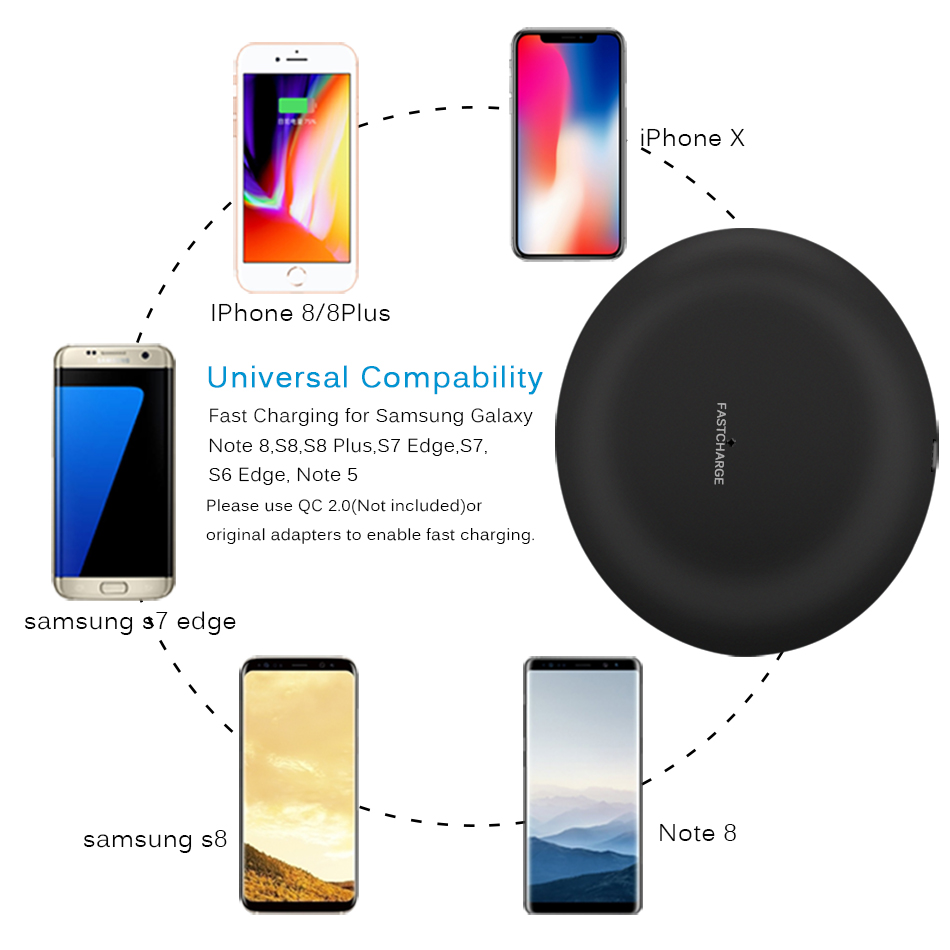 wireless charger iphone 7.5w 7