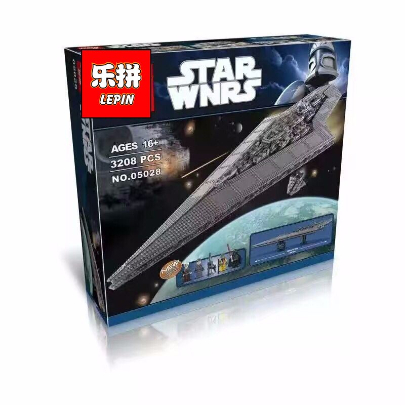 LEPIN-Star-Wars-Super-Star-Destroyer-STARWARS-Model-Building-Blocks-Kits-Toys-For-Children-Minifigures-Marvel