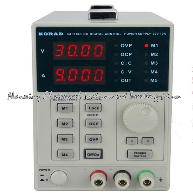 FAST ARRIVAL KORAD KA3010D Precision Variable Adjustable 30V, 10A DC Linear Power Supply Digital Regulated  Laboratory Class fast arrival hspy30v 10a dc programmable power supply output of 0 30v 0 10a adjustable rs232 port