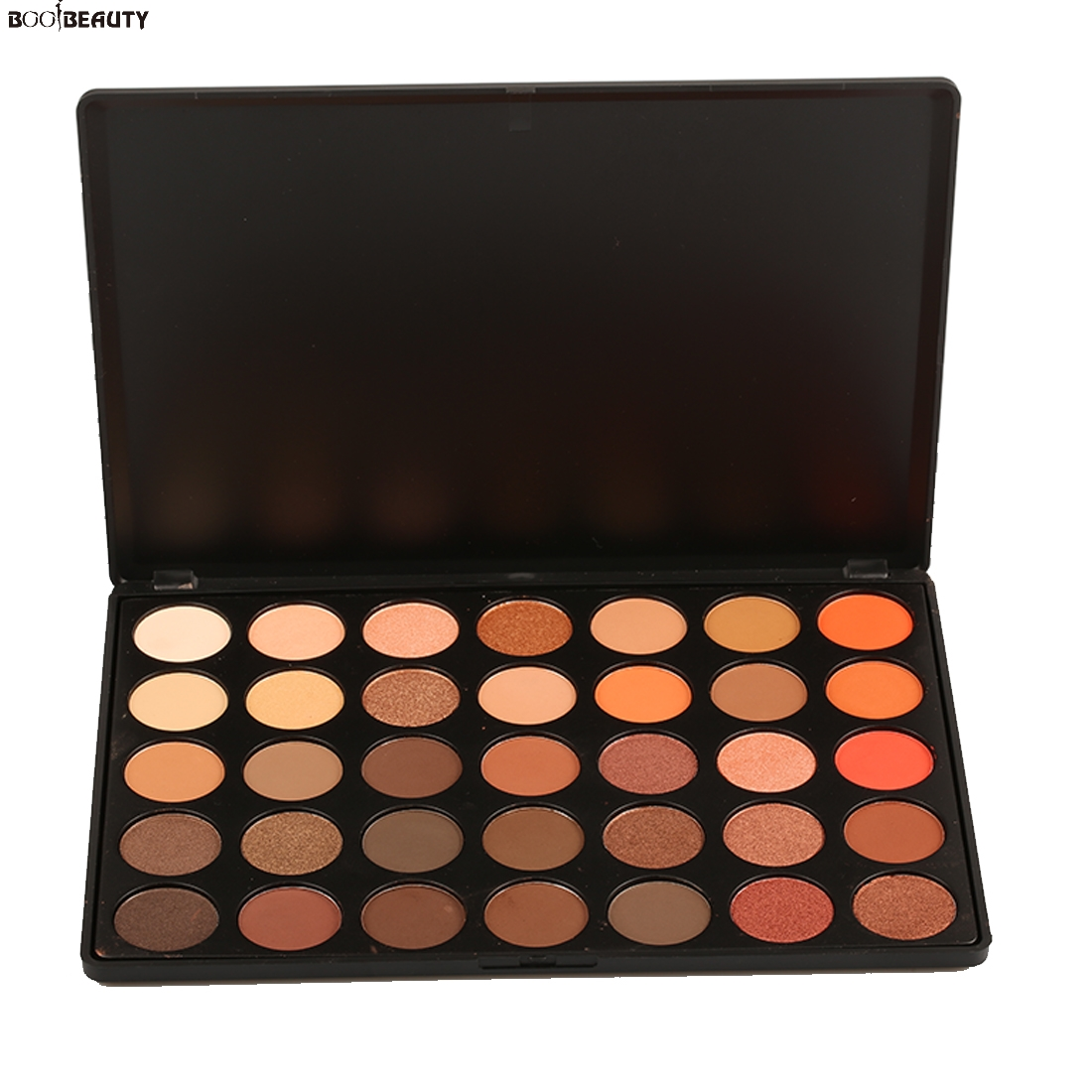 BOOBEAUTY 35 Color Eyeshadow Palette Silky Powder Professions