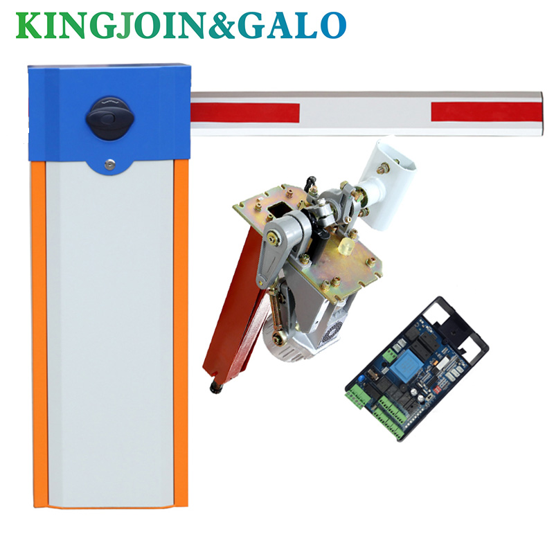 Intelligent Parking Barrier Gate High Speed Barrier Gate For Car Parking