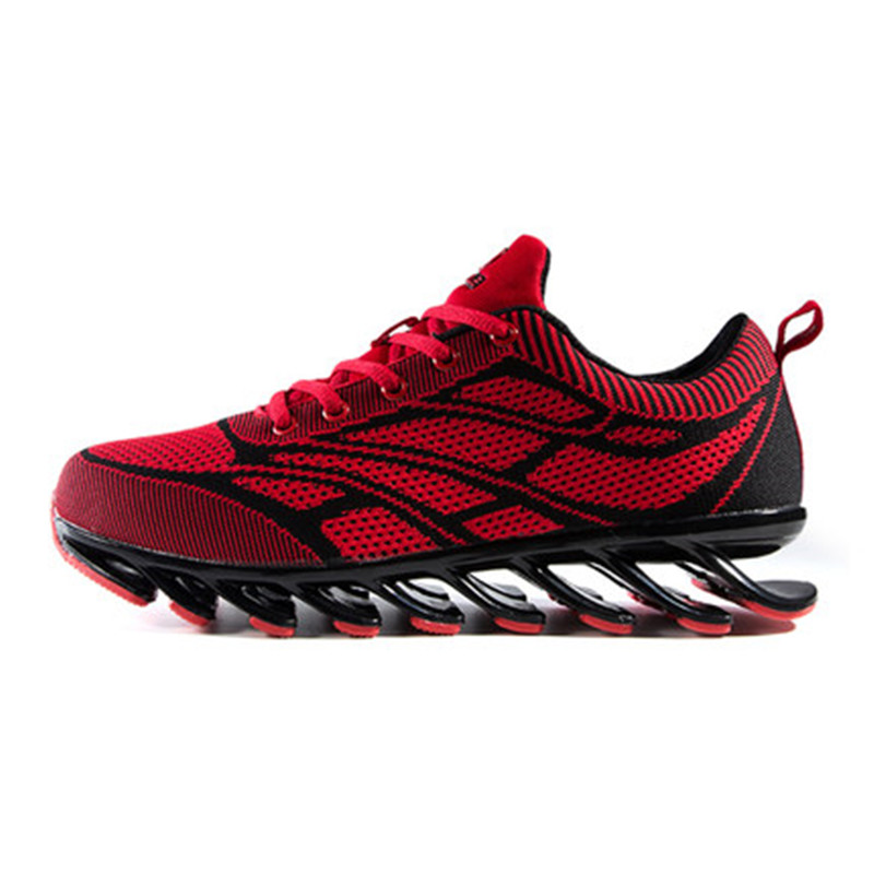 2018 New Blade Warrior Running Shoes Male 6 Generation Breathable  Shock Absorber  Wear More Wear  Mesh   Free Shipping