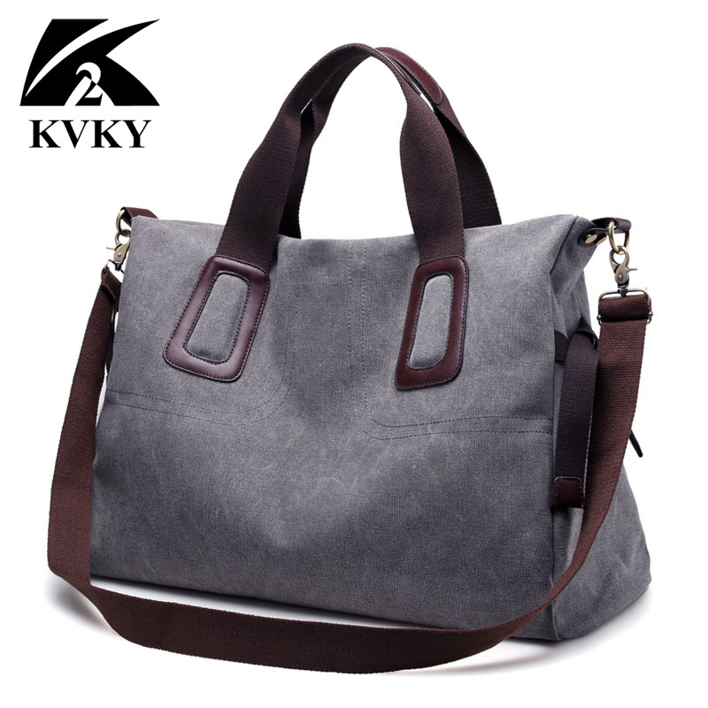 KVKY Hot Canvas Women Bag Casual Handbag Brands Women Shoulder Large Capacity Graffiti Big Trapeze Big Totes Messenger Bags 2017 kvky vintage canvas women handbags large capacity patchwork casual female shoulder bags brand messenger bag totes bolsa feminina