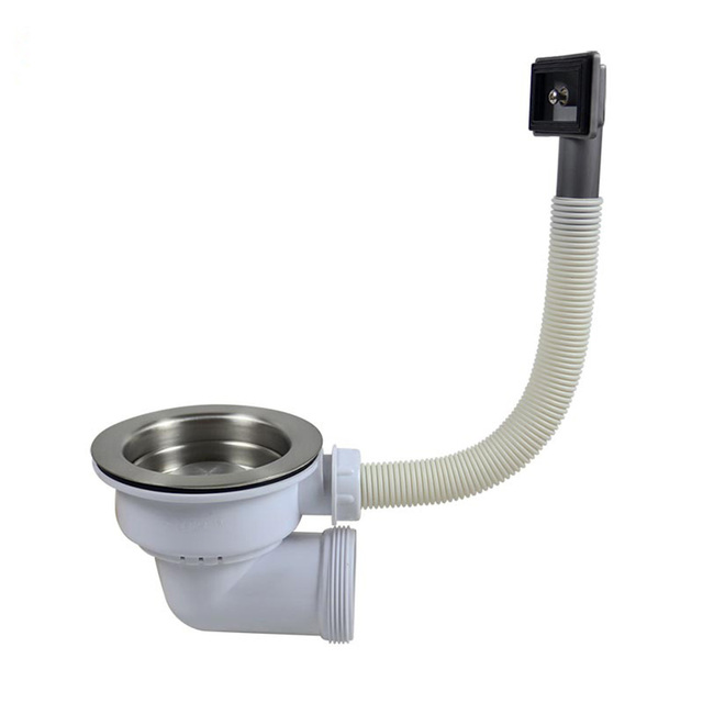Talea Kitchen sink basket strainer with overflow joint finished ...