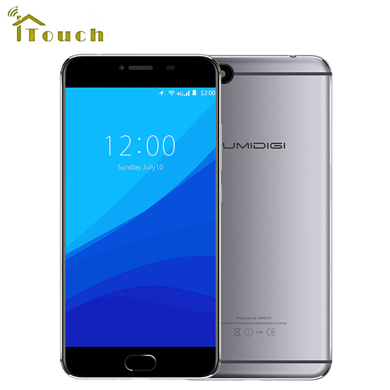 "bilder für UMIDIGI C Hinweis Android 7.0 Autofokus 13MP Kamera Entsperrt Handy 5,5 ""3G RAM 32 GB ROM 3800 Mah Smartphone 4G Lte Handys"