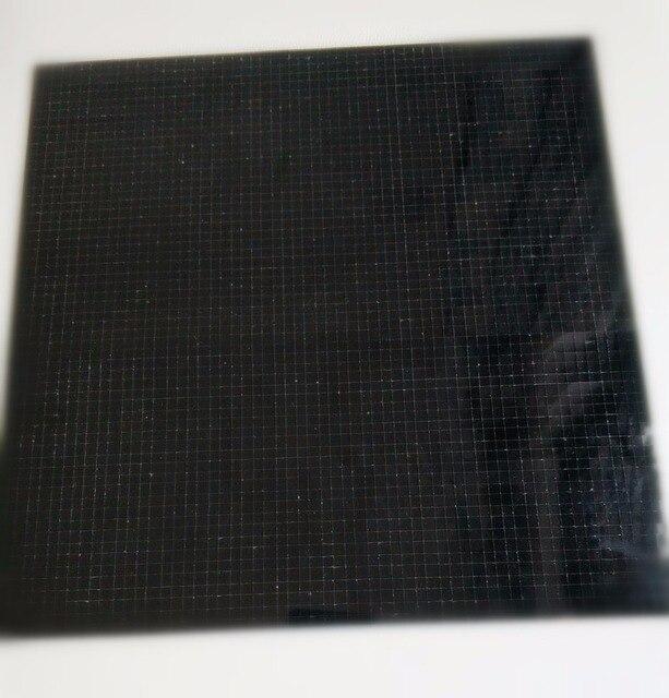Meya Black Self Adhesive Real Glass Mirror Tile Craft Colored Mini