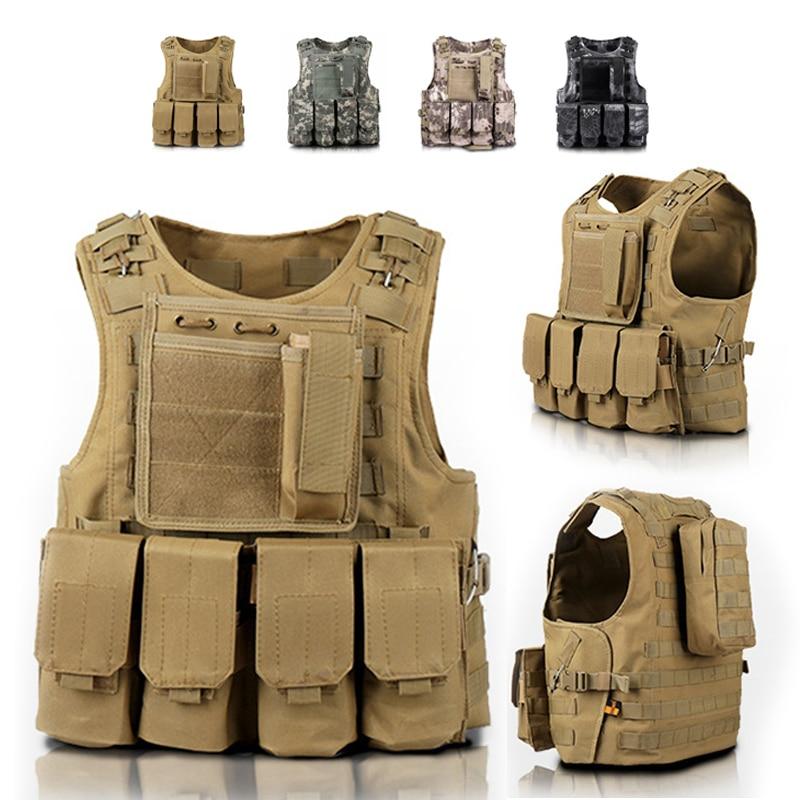 Мужская камуфляжная тактическая охотничья жилетка, детская Военная армейская униформа для мальчиков, костюм для костюмированной вечеринк