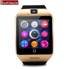 Smart Watch For Android Phone With Sim SD Card Slot Push Message Bluetooth Connectivity with whatsapp music Better 500mA battery