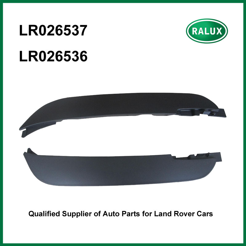 LR026536 LR026537 right left front spoiler for LR Range Rover Evoque 2012 auto deflector quality replacement spare parts supply auto suspension parts left front control shower arm for land rover range rover evoque lr024472