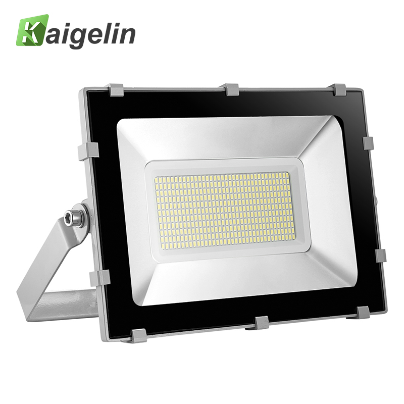 Kaigelin Ultra Bright 200W LED Flood Light 24000LM Waterproof LED Floodlight Outdoor LED Spotlight Garden Landscape Projector ultrathin led flood light 200w ac85 265v waterproof ip65 floodlight spotlight outdoor lighting free shipping