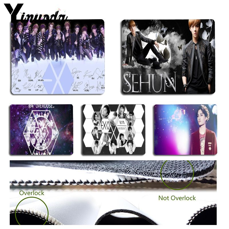 Babaite Exo Came Back Comics Gaming Mouse Mat Rubber Pad Customized Item Avaliable Durable Pad For Game Player Mouse Mat Computer & Office
