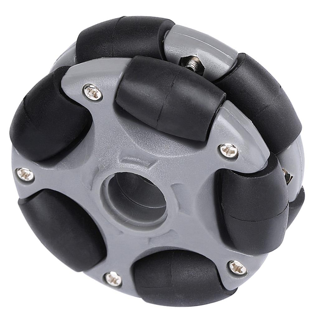 Plastic Omni Wheel For Arduino Servo Motor Kit DIY, Robot Tank RC Smart Car Toy 58mm, 360° Vehicle Mechanical Part