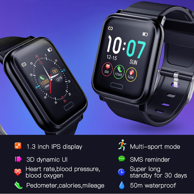 Image 3 - L8STAR B1 Smart Watch Blood Pressure Oxygen Sport 30Days Long Battery Life Fitness Tracker Health Bracelet Heart Rate Monitor-in Smart Watches from Consumer Electronics