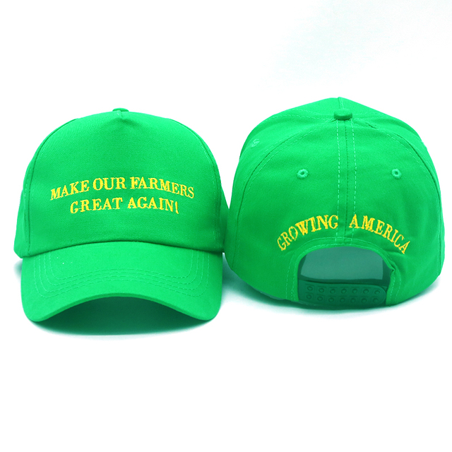 d01d3683 New trump cap hat MAKE OUR FARMERS GREAT AGAIN hat cotton adjustable  baseball caps GROWING AMERICA