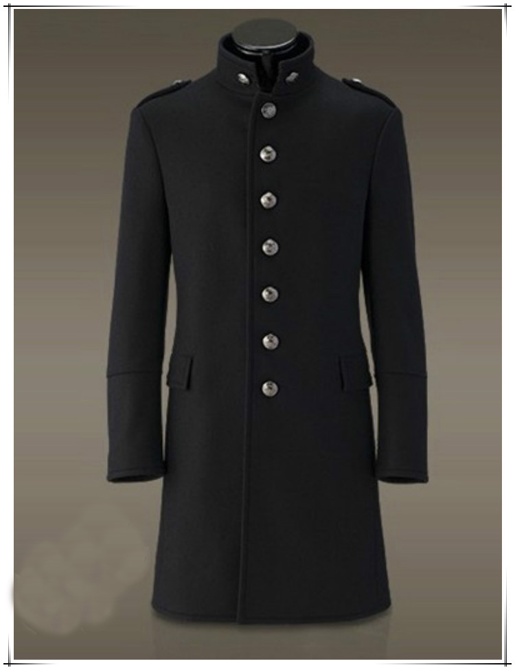 Popular Mens Military Style Trench Coat-Buy Cheap Mens Military ...