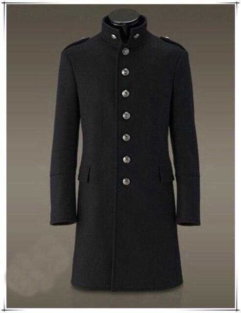 8fb204b1ed Hombres-solo-breasted-Trencas-abrigo-chaqueta-lana-slim-fit-invierno -Militar-negro-Retro-Vintage.jpg 640x640.jpg