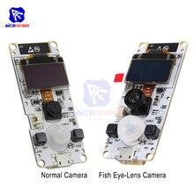 "ESP32 Cam ESP32 Dual Core Wrover Psram Wifi OV2640 Camera Module 0.96 ""Oled SSD1306 I2C BME280 Sensor Module CP2104 voor Arduino"