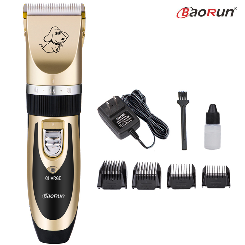 Professional Pet Dog Hair Trimmer Animal Grooming Clippers Cat Cutter Machine Shaver Electric Scissors Mower Clipper 110-240V AC