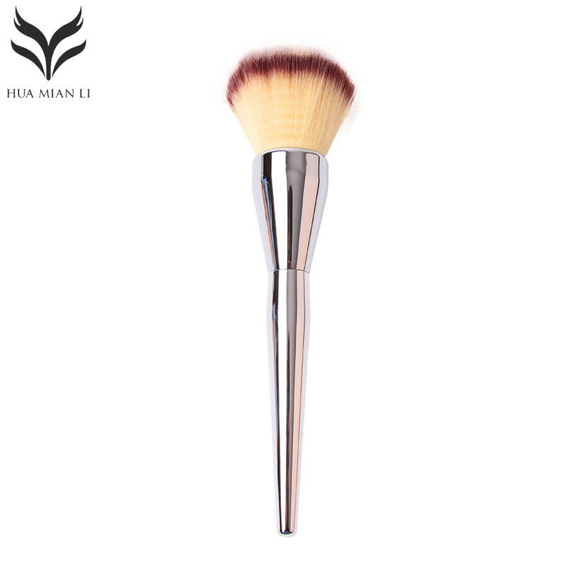 2017 Hot High Quality Blush Brush Professional Makeup Brush Flawless Blush Powder Brush Kabuki Foundation Make Up Tool 1pc professional makeup brush flawless blush powder pinceis brush rose gold metal large kabuki make up brush gub
