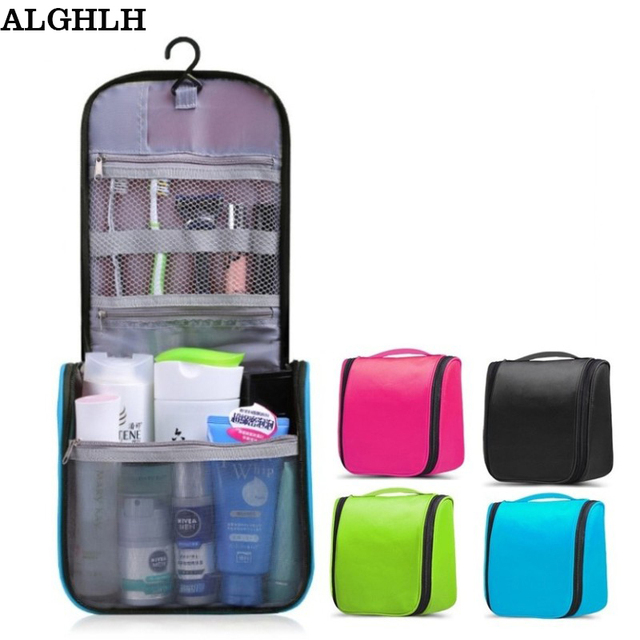 75547edd8e72 Waterproof Hanging Wash Toiletries Women Toilet Bag Storage Bag Organizer  Beautician Makeup Cosmetic Bag Men Travel
