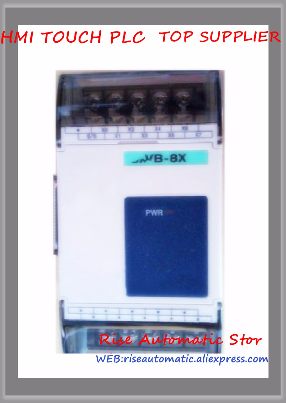 VB-8X-C PLC New Original 24VDC 8 point input Expansion Module new original vb 16yr plc 24vdc 16 point input expansion module