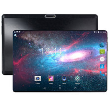Super Tempered 2.5D Kaca 10 Inci Tablet Android Oreo Octa Core 4 GB RAM 64 GB ROM 1280*800 kartu Dual SIM Tablet 10.1 + Hadiah(China)