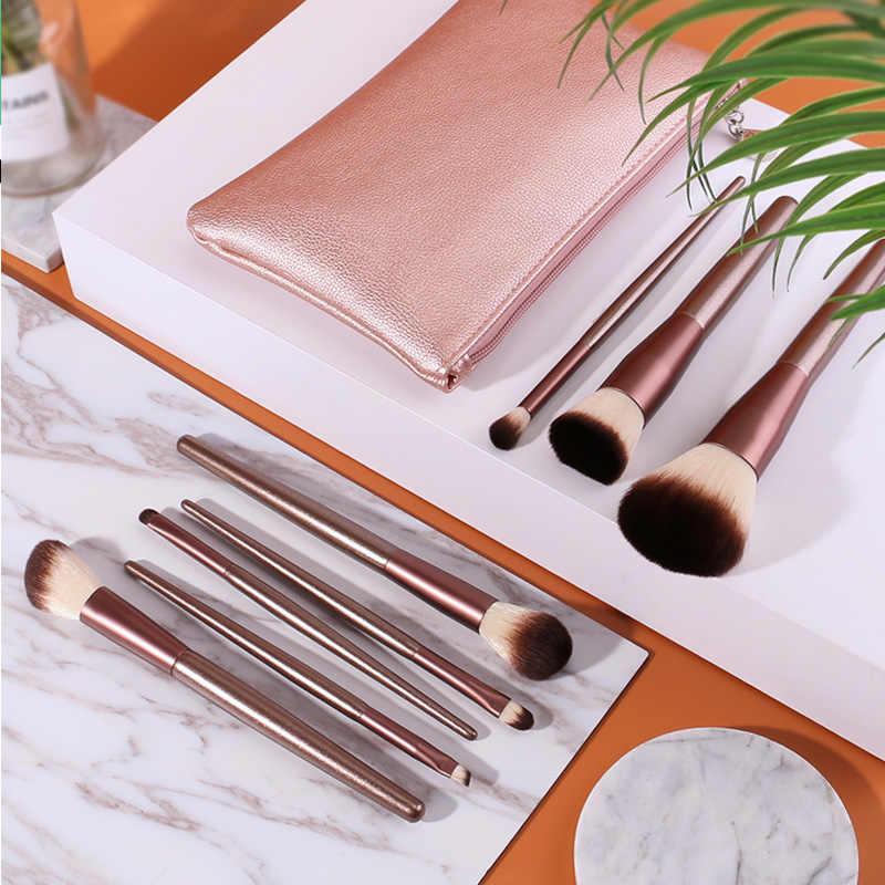 Xiaomi DUcare 8Pcs Professional Makeup Brushes Set Powder Foundation Eyeshadow Make Up Brushes with Storage Bag