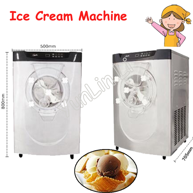 где купить Commercial Ice Maker Full Automatic Ice Making Machine Desktop Hard Ice Cream Machine BQ22T дешево