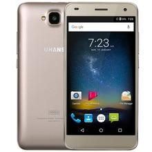 "UHANS H5000 4G lte desbloqueado Teléfono Móvil 5 ""HD MTK6737 Quad Core Android 6.0 3 GB RAM 32 GB ROM 13MP 4500 mAh Cargador Rápido"