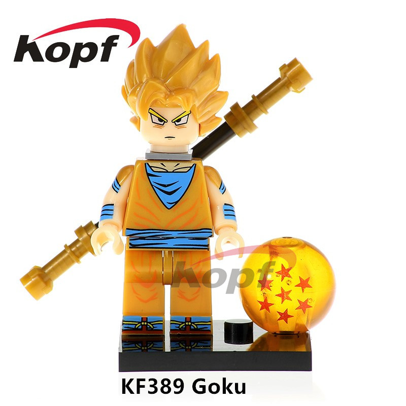 US $0 5 |Single Sale Super Heroes Launch Dragon Ball Z Android 17 Son Gohan  SS Vegeta Black Goku Building Blocks Best Children Gift Toys-in Blocks