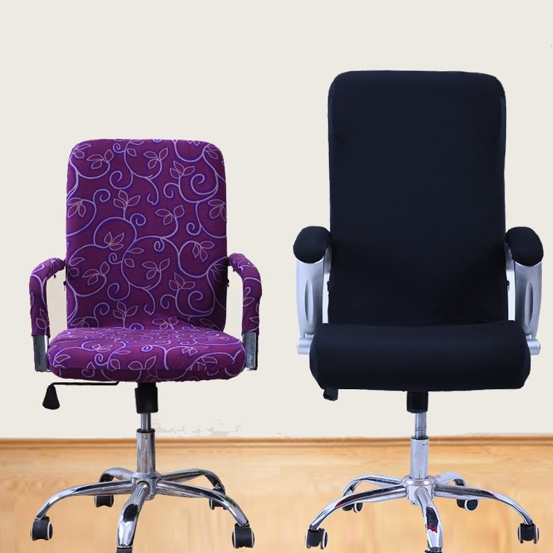 7 Colors Spandex Office Chair Cover Slipcover S M L