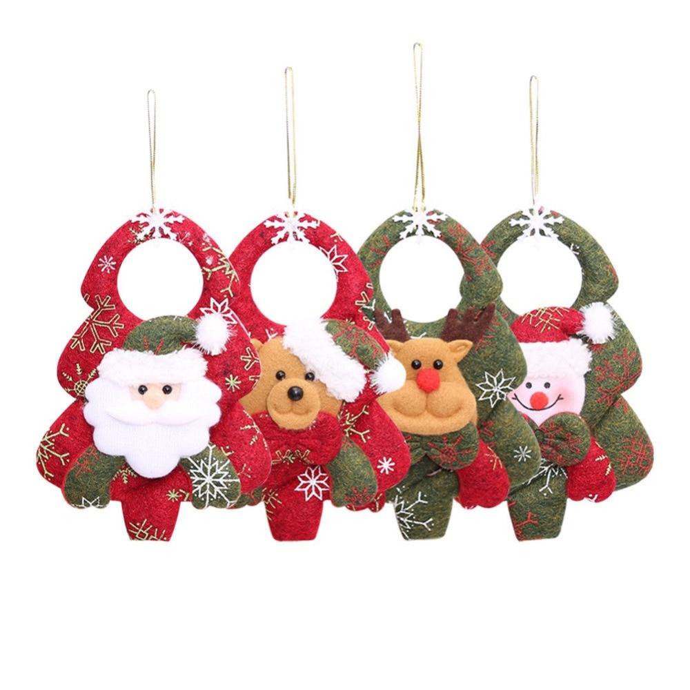Christmas Tree Decorations Aliexpress: 1Pcs Christmas Ornaments Christmas Tree Santa Claus