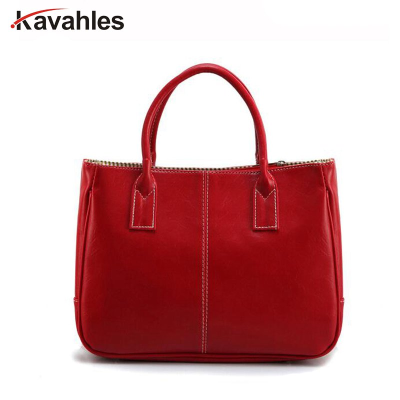 Hot Sale Women Bag Fashion PU Leather Womens Handbags Bolsas Top-Handle Bags Tote Women Shoulder Messenger Bag  PP-1099