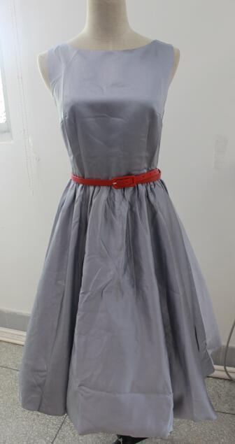 b3d65bcbdb Frete grátis 50 s Retro Vestido de Audrey Hepburn Estilo Vintage Bestdress  Rockabilly Vestido S-6XL