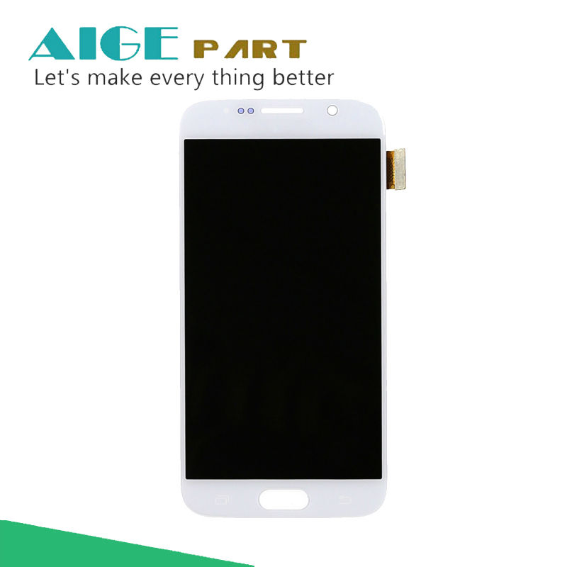 5.1 inch For Samsung Galaxy S6 G920 LCD Display Touch Screen With Digitizer Glass Assembly Free Shipping High Q
