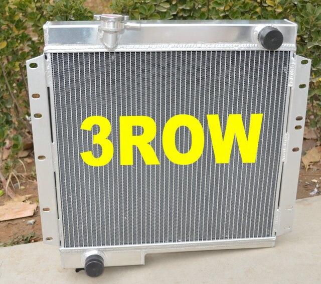 Nouveau radiateur en aluminium de 3 noyaux 62mm pour TOYOTA landcruiser 42 BJ40 BJ42 Land Cruiser