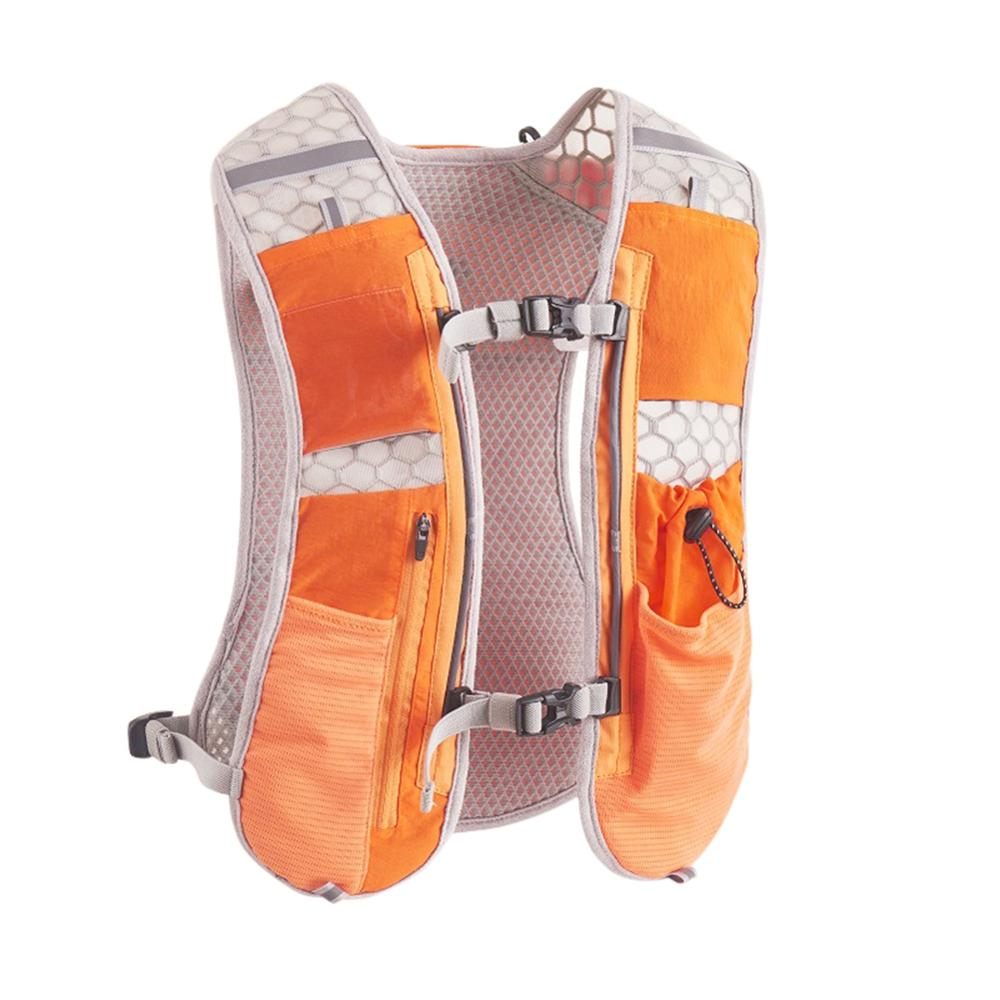 Outdoor Running Vest Quick-Dry Breathable Phone Bag Hydration Backpack Accessories New